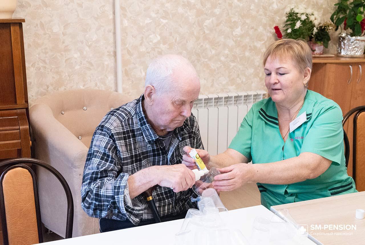 Добрый дедушка пансионат для престарелых бавлены владимирская область дом престарелых