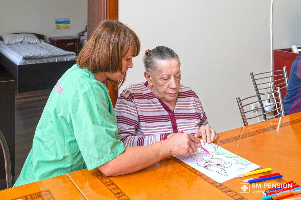 Работа в пансионе для престарелых народное средство по уходу за лежачим больным
